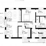 Grundriss 3½-Zimmer-Wohnung (Erdgeschoss)